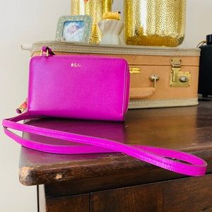 LRL crossbody wallet organizer bag Ralph Lauren